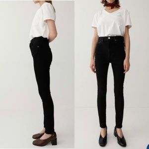 Moussy | Black Rebirth High Rise Skinny Jeans